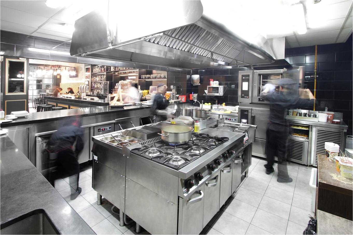 Professionelt storkøkken