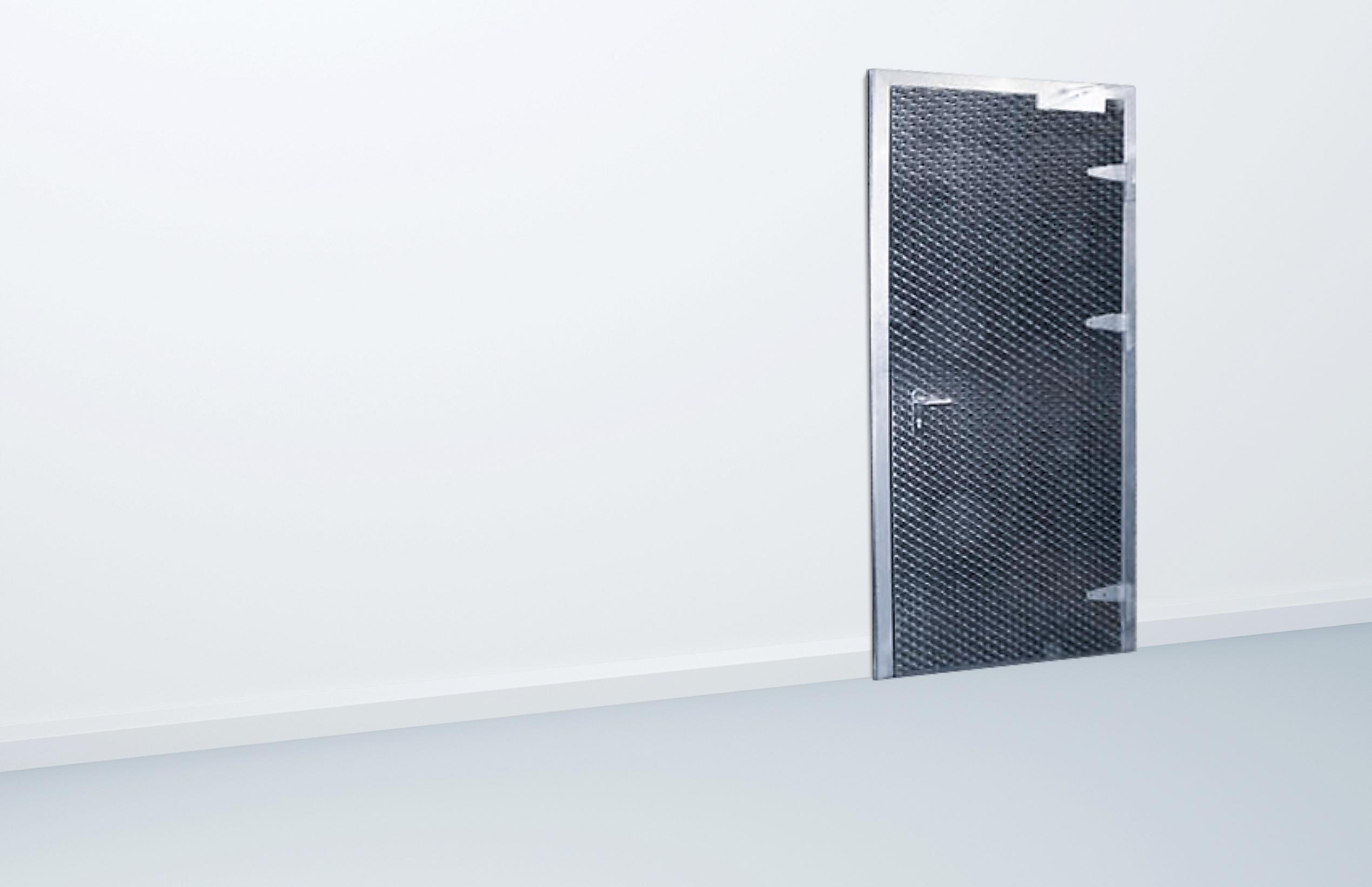 Brandsikret dør til kølerum