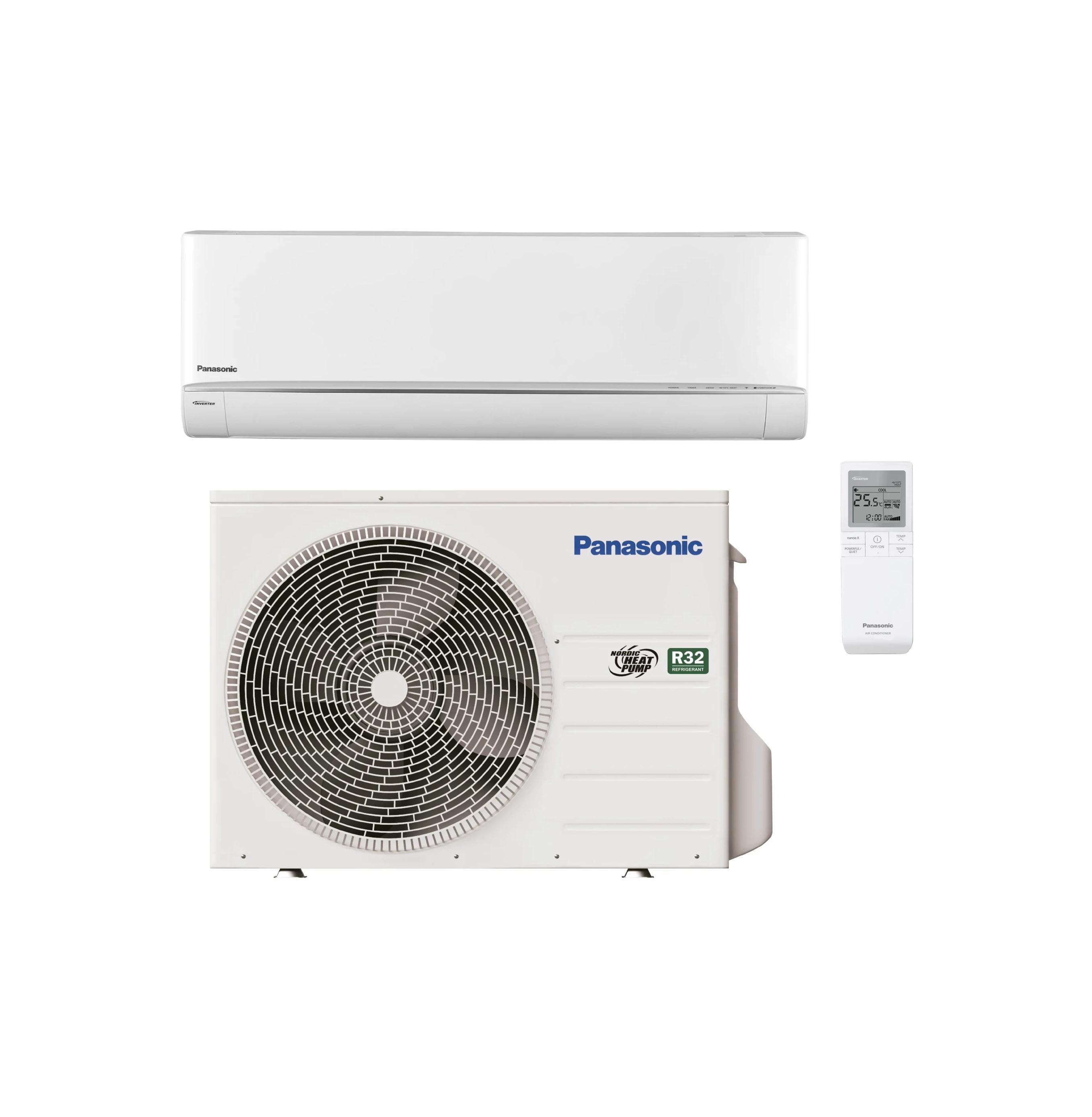 Panasonic luft til luft varmepumpe flagship