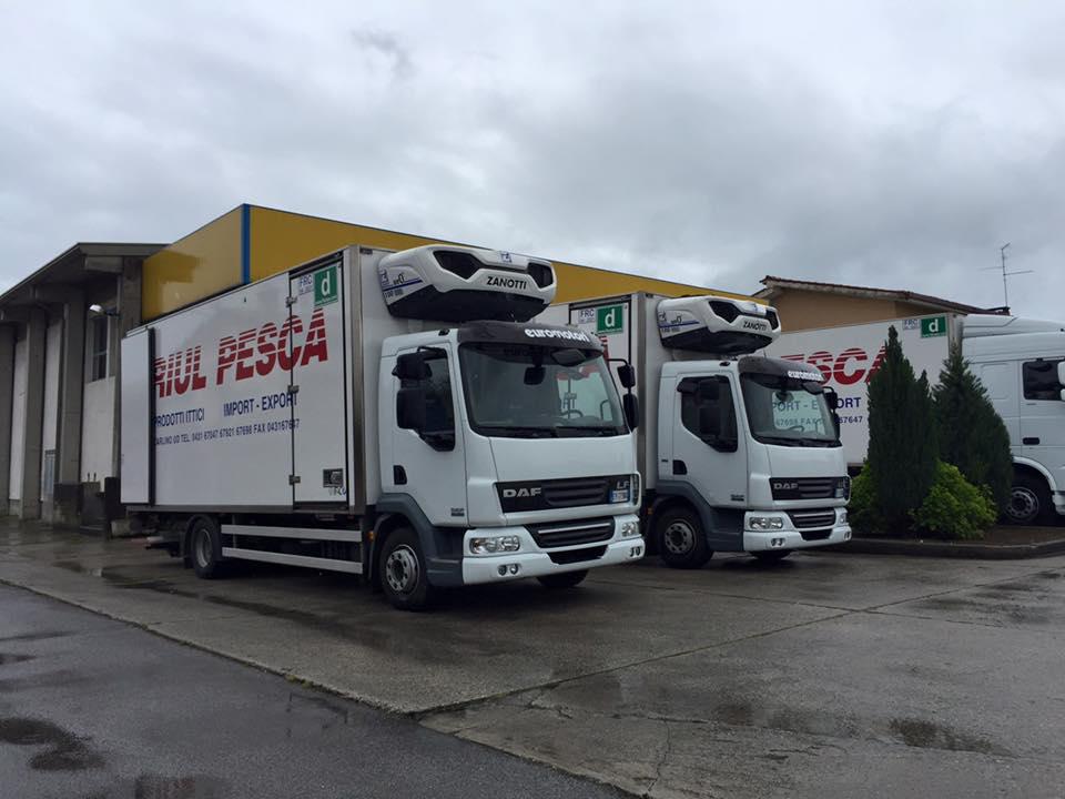 Lastbiler med transportkøling