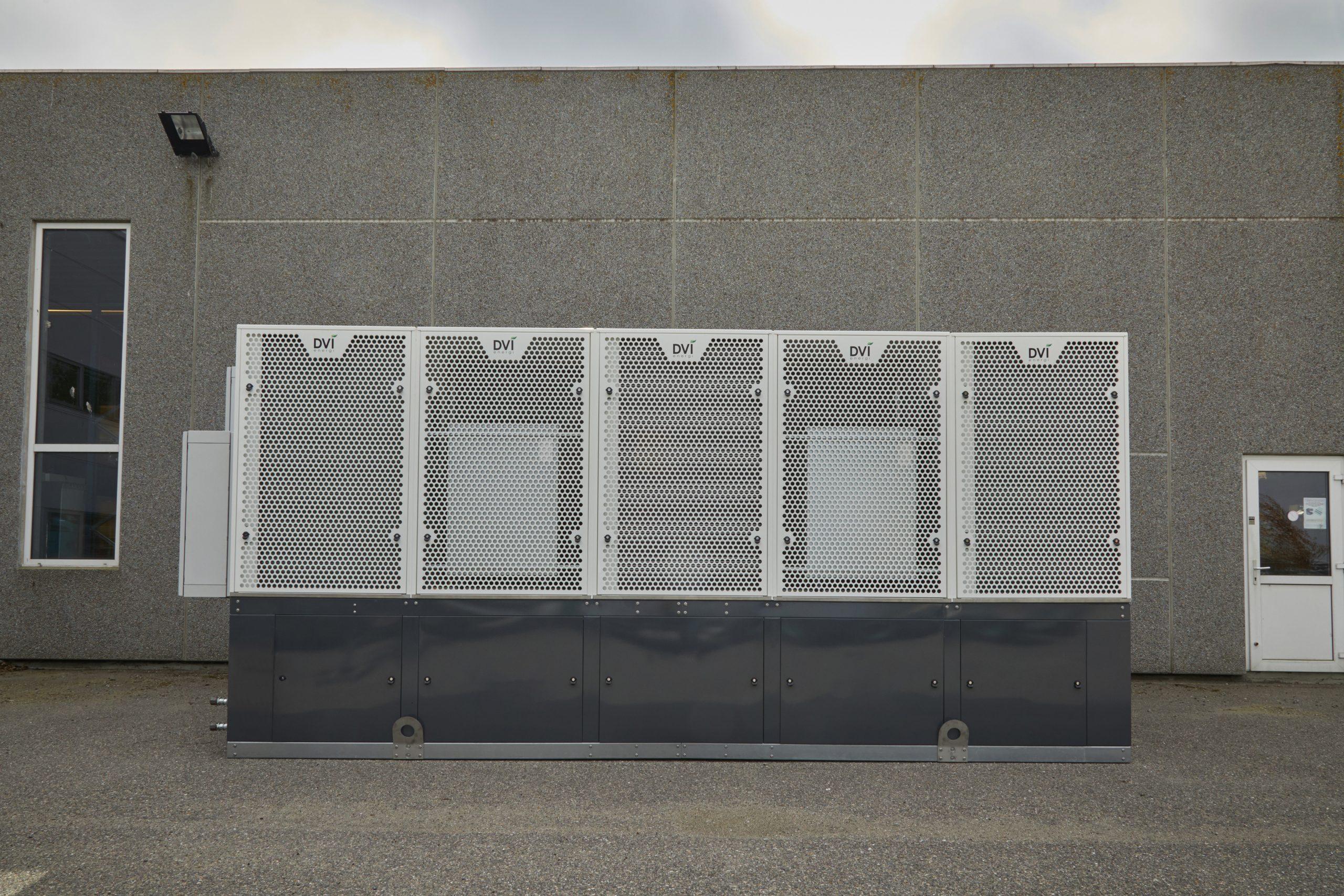 varmepumpecentral til erhverv